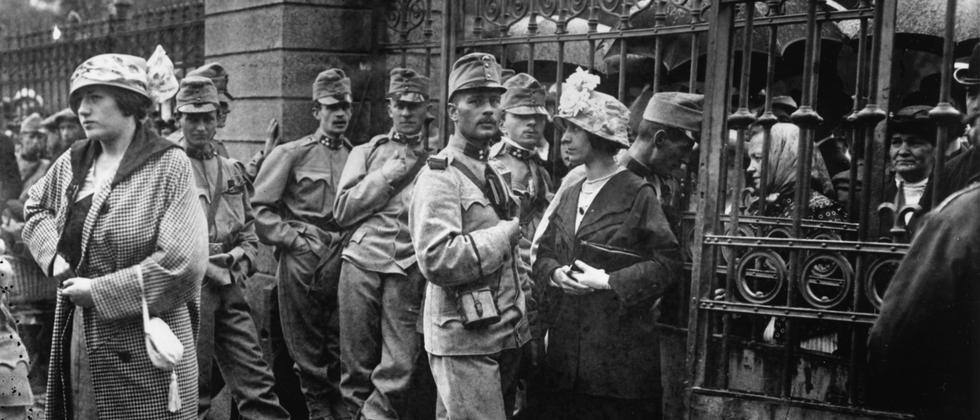 Erster Weltkrieg: Mobilmachung in Wien
