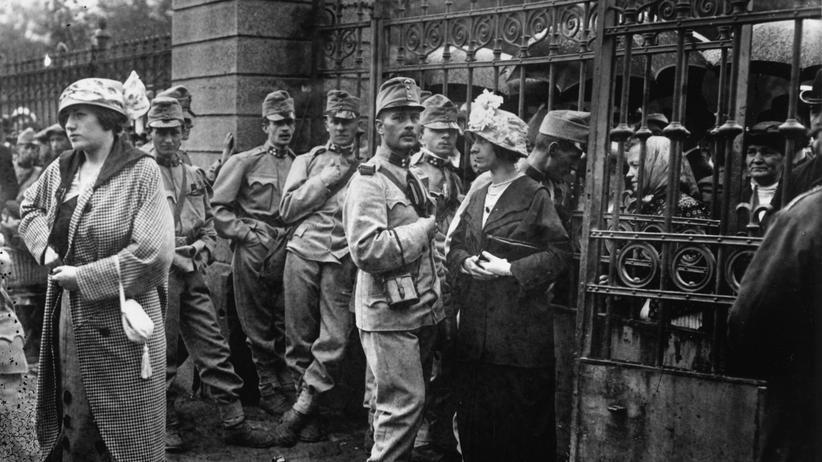 Erster Weltkrieg: Österreich-Ungarn will den Krieg am Balkan