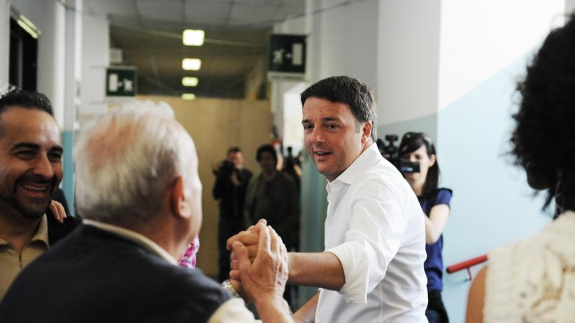 Europawahl 2014 Italien Matteo Renzi