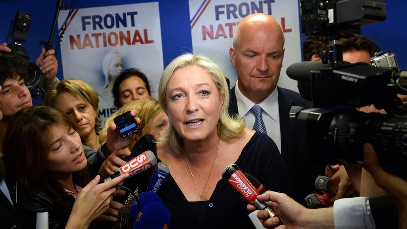 Europawahl 2014 Frankreich Le Pen