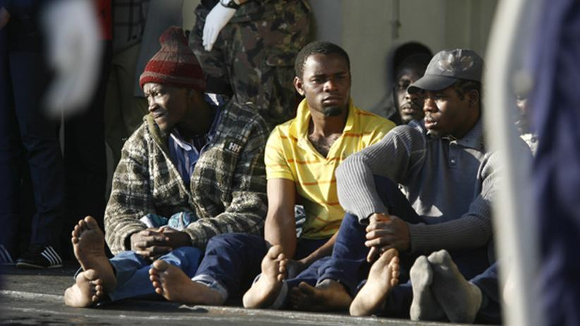 Flüchtlinge Italien Empedocle