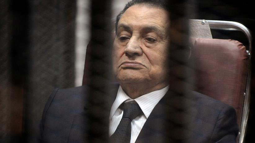 Hosni Mubarak: Ägyptens Ex-Präsident Hosni Mubarak (Bild vom Montag)