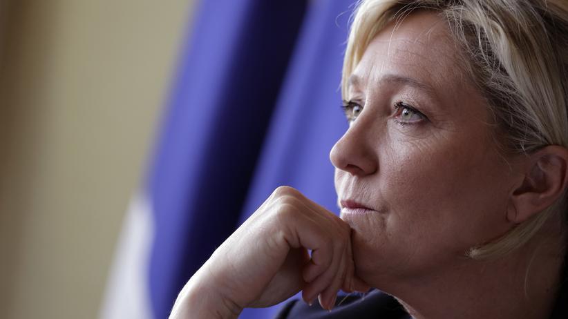 Front-National-Erfolg: Die Parteichefin des Front National, Marine Le Pen