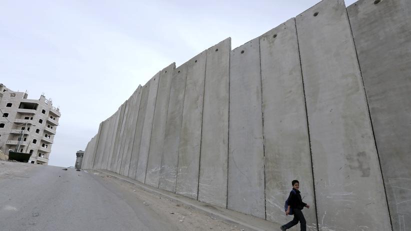 Israelische Sperranlagen nahe Jerusalem