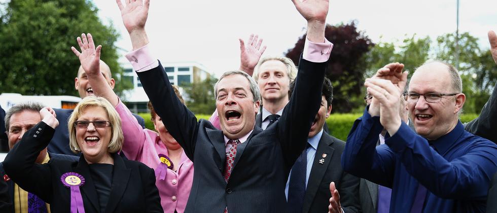Nigel Farage Europawahl