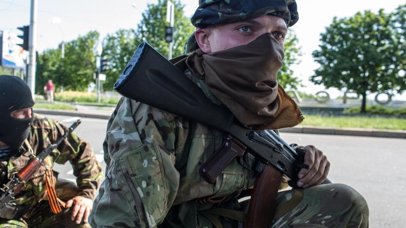 Ukraine: Prorussischer Separatist in Donezk
