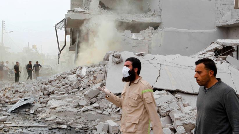 Syrien: Anschlag zerstört Quartier von Regierungstruppen