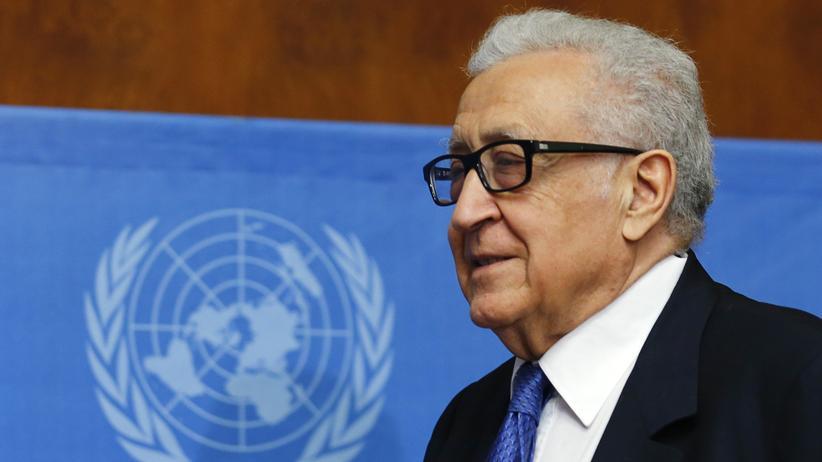 Syrien: UN-Vermittler Brahimi gibt sein Amt auf
