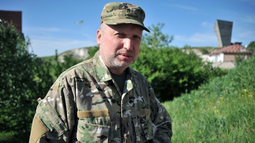 """Ukraine-Live-Blog: Turtschynow kündigt """"finale Phase"""" des Militäreinsatzes an"""