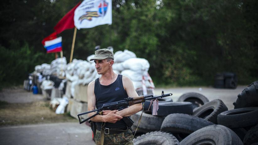 Ukraine: Prorussische Milizen in der Region von Luhansk