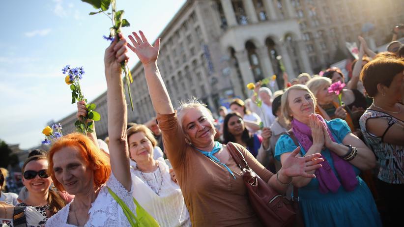 Ukraine: Ein Land wählt sich