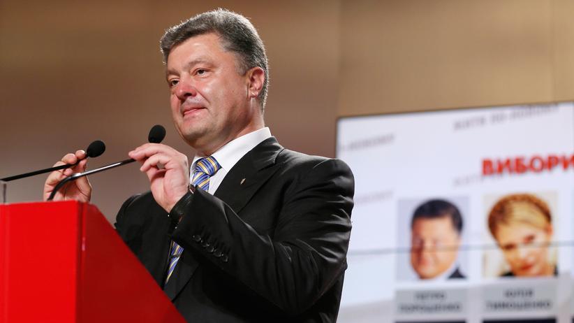 Ukraine: Petro Poroschenko gewinnt Präsidentenwahl