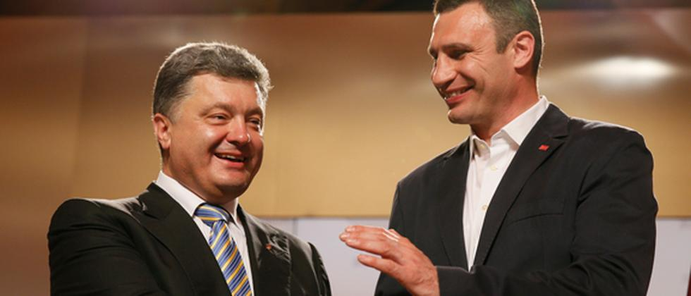 Ukraine Wahl Poroshenko