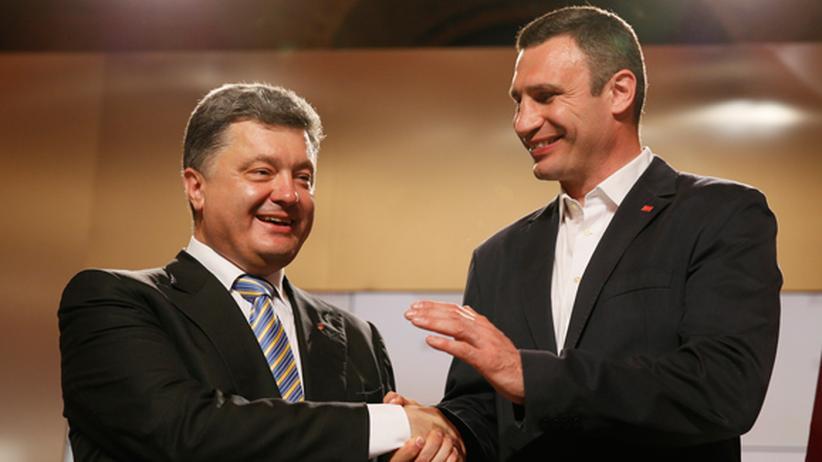 Ukraine-Wahl im Live-Blog: Poroschenko und Klitschko feiern sich als Sieger