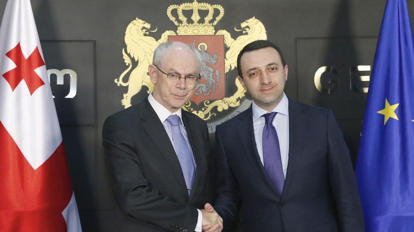 EU Georgien Van Rompuy Garibaschwili Assoziierungsabkommen