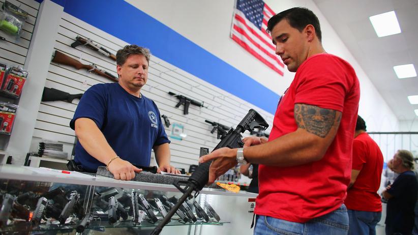 Waffen Gesetze Kongress USA