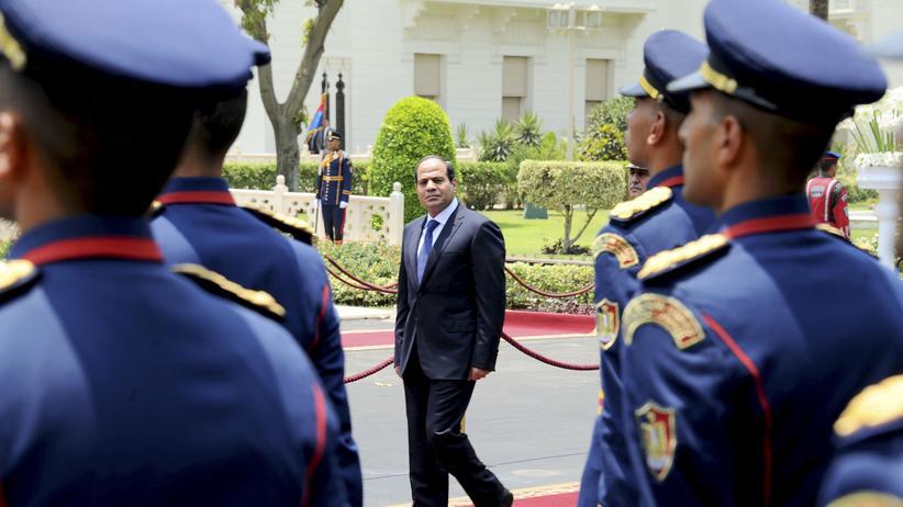 Amtsantritt Al-Sisi
