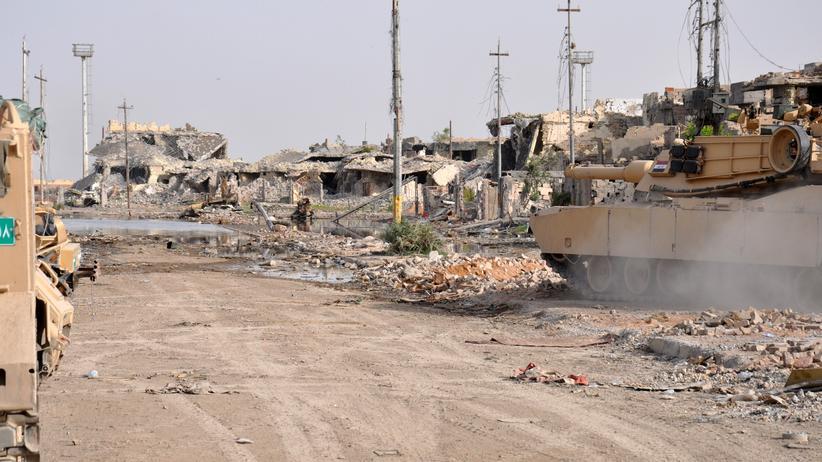 Isis-Vormarsch: Die Stadt Ramadi in der westirakischen Provinz Anbar