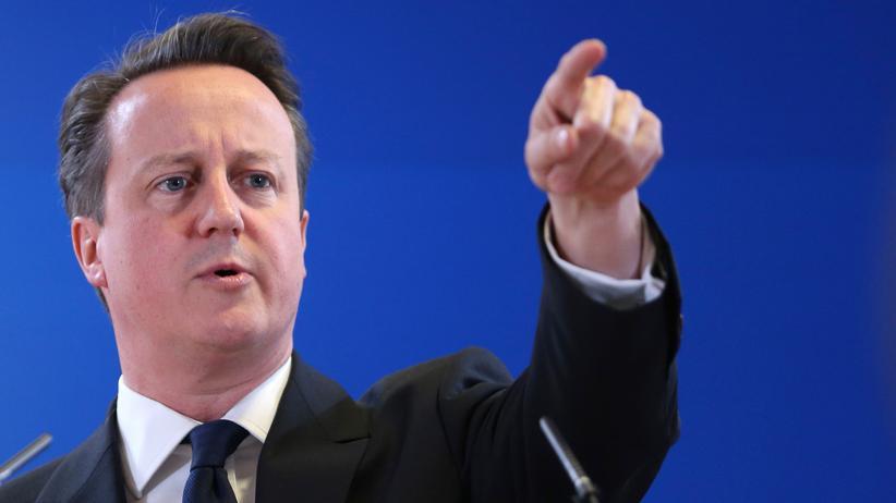 Cameron hält Juncker für den Falschen