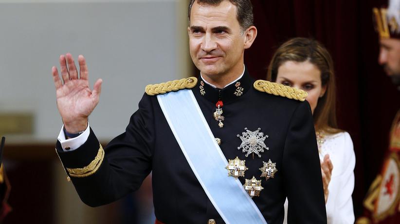 Spaniens neuer König Felipe VI