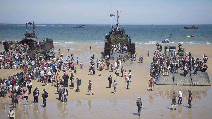 70 Jahre D Day Am Strand Der Großen Gesten Zeit Online