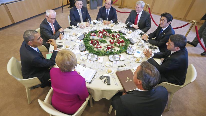 Ukraine-Krise: G-7-Staaten suchen Weg aus russischer Abhängigkeit