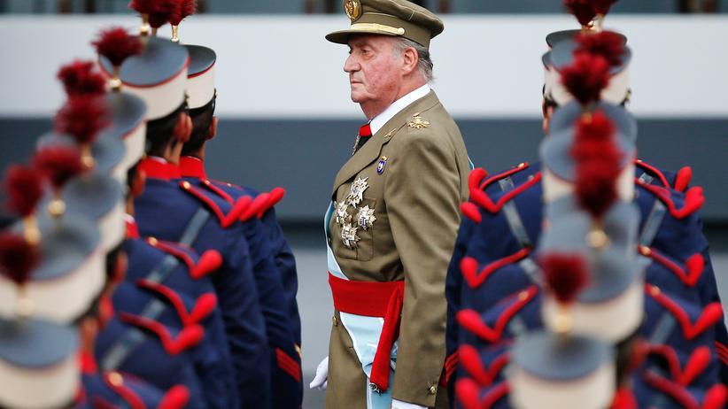 Juan Carlos: Protestgruppen fordern Abschaffung des Königshauses