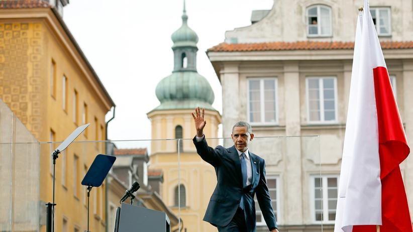 Warschau-Rede: US-Präsident Barack Obama