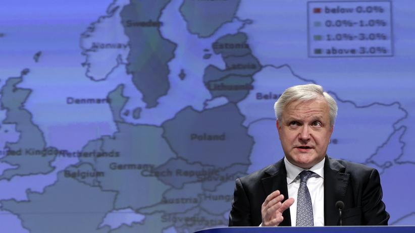 Haushaltsplanungen: EU-Währungskommissar Olli Rehn
