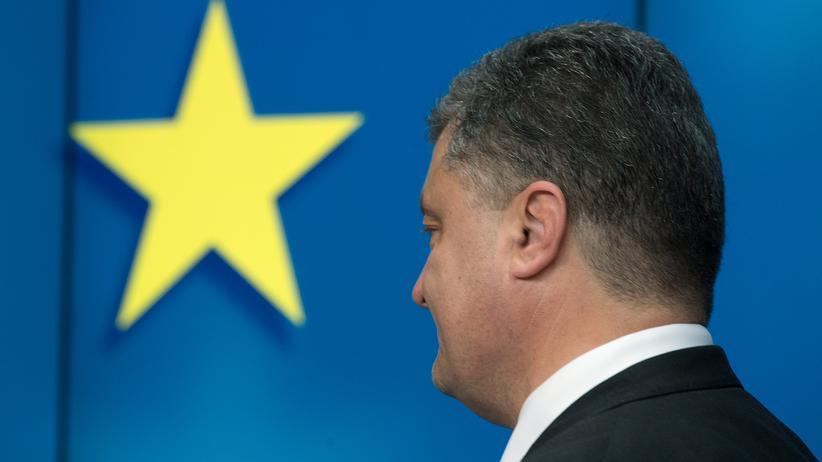 Assoziierungsabkommen mit der EU: Der ukrainische Präsident Petro Poroschenko