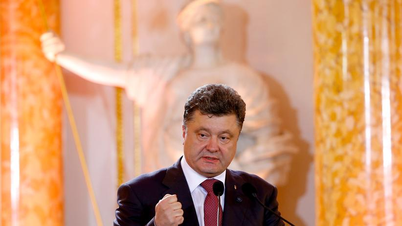 Ukraine-Krise: Poroschenko gibt die Krim nicht auf