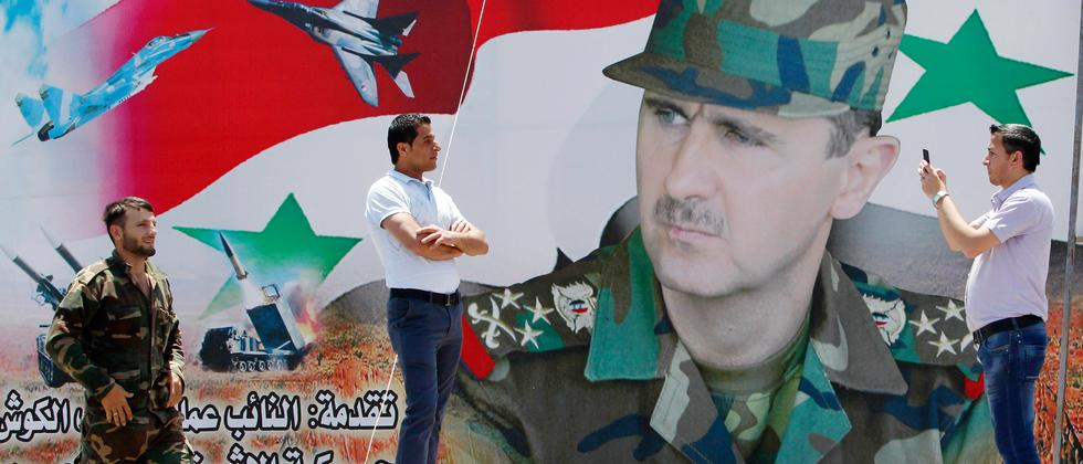 Baschar al-Assad Damaskus Syrien