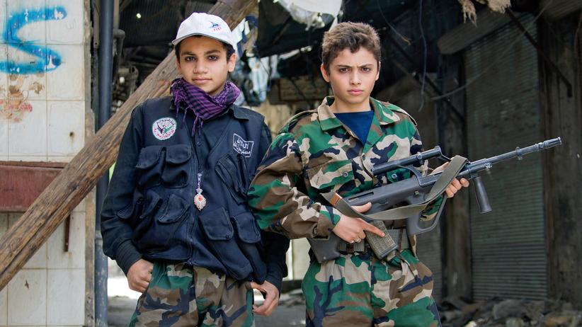 Syrien Kindersoldaten Human Rghts Watch