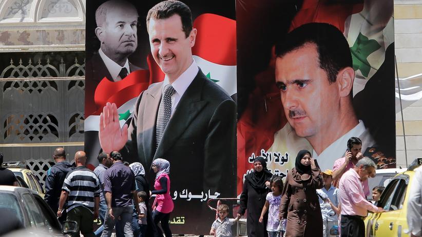 Syrien Bashar al-Assad Präsidentenwahl