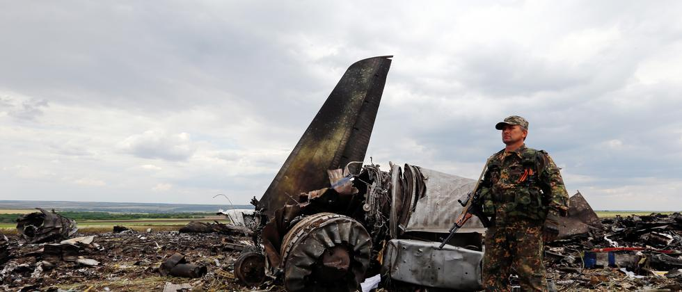 Ukraine Luhansk Separatisten