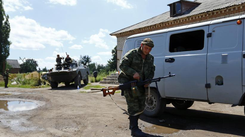 Prorussische Kämpfer im Osten der Ukraine