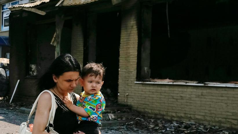 Ukraine: Poroschenko ordnet Fluchtkorridor für Krisengebiet an