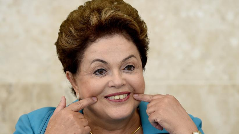 Dilma Rousseff, Fußball-WM, Brasilien