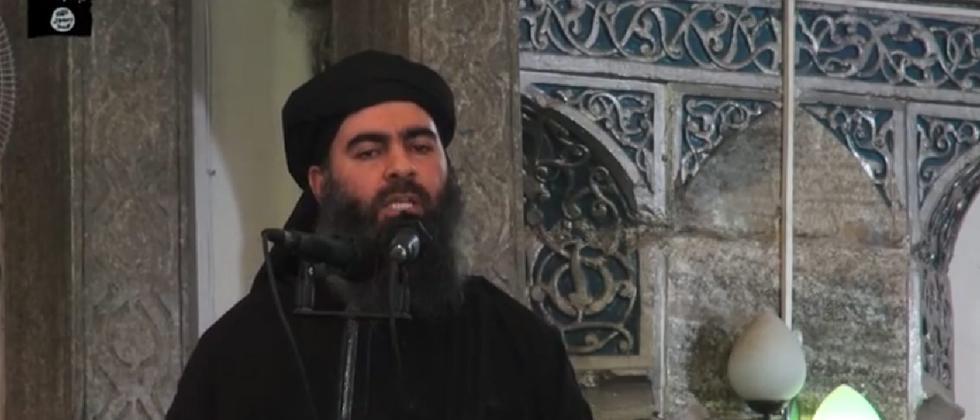 Der Isis-Chef und selbsternannte Kalif Abu Bakr al-Baghdadi