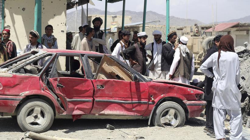 Autobombe: Viele Tote bei Selbstmordattentat im Südosten Afghanistans