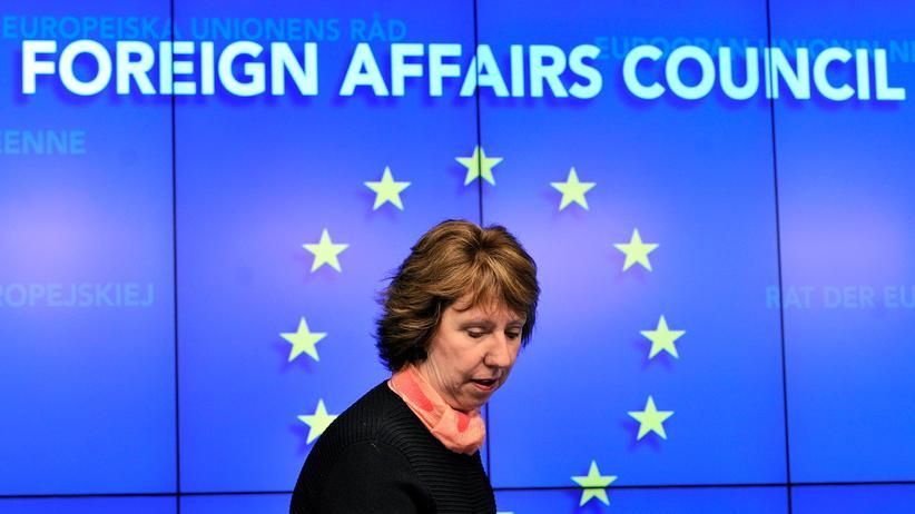 EU-Gipfel Catherine Ashton