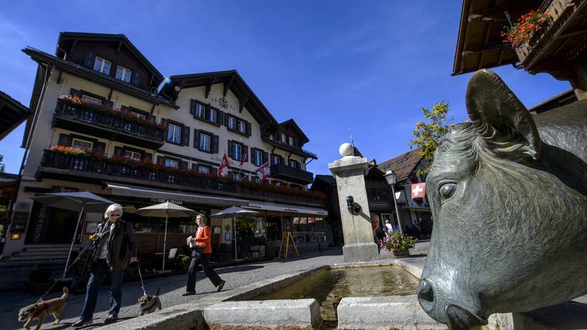 Gstaad im Kanton Bern