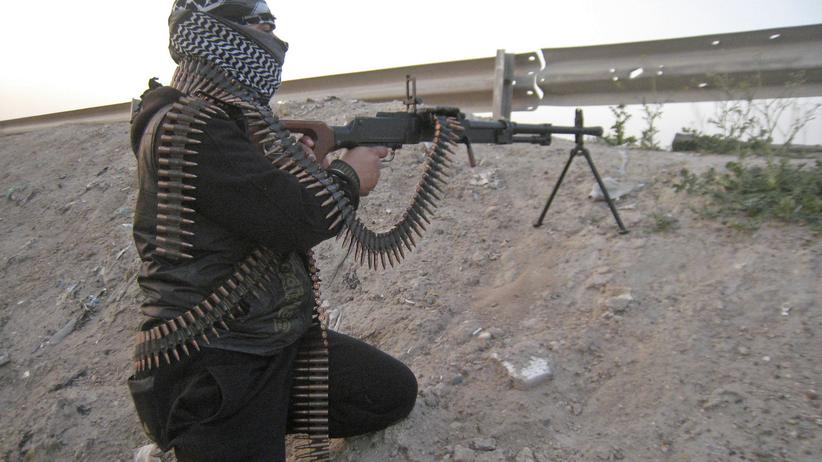 IS-Kämpfer: Ein sunnitischer Extremist in der Nähe von Falludscha