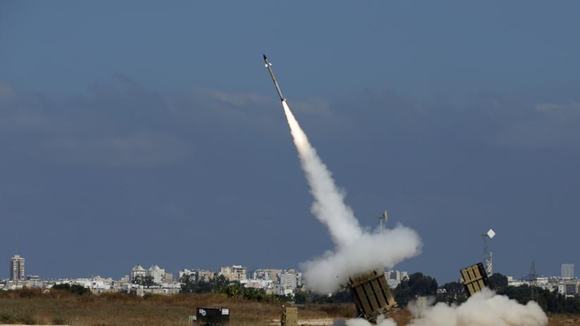 Israel Raketen auf Tel Aviv