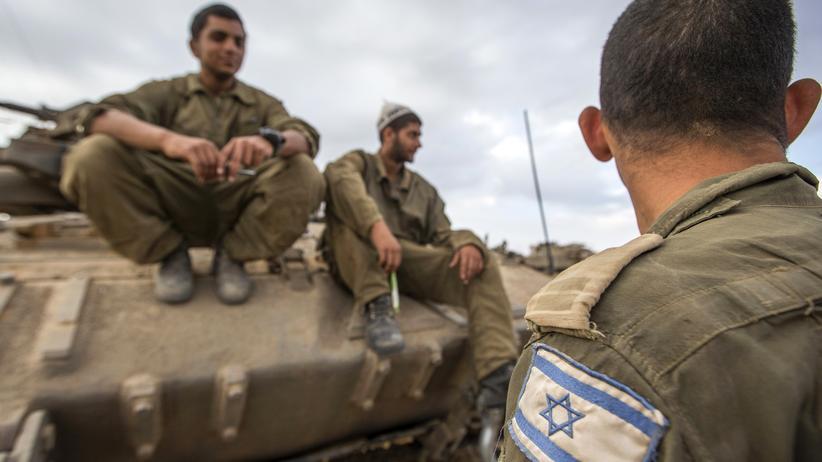 Israelische Soldaten im Gazastreifen