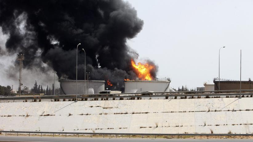 Libyen: Kämpfe um Flughafen von Tripolis gehen trotz Feuerpause weiter