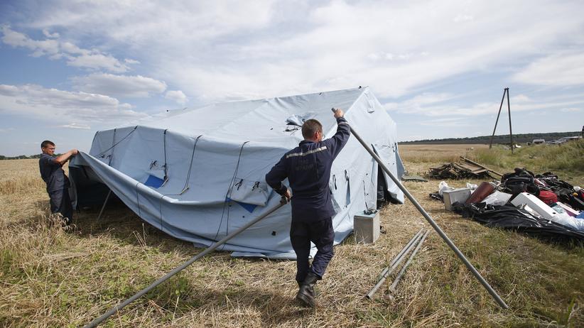 Ostukraine: Suche nach MH17-Opfern ist abgeschlossen