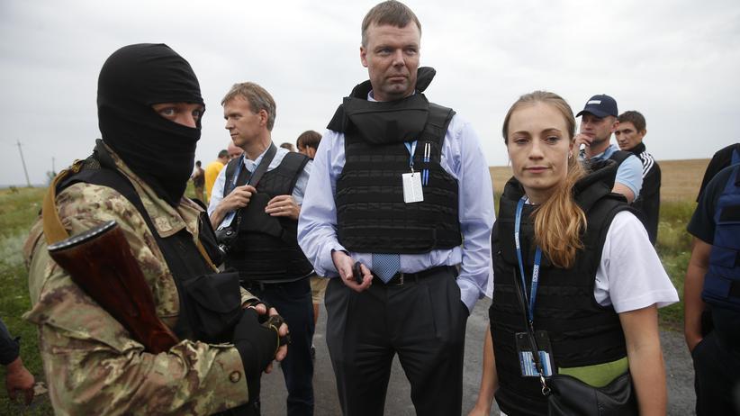 Malaysia-Airlines-Absturz: Separatisten behindern OSZE-Beobachter