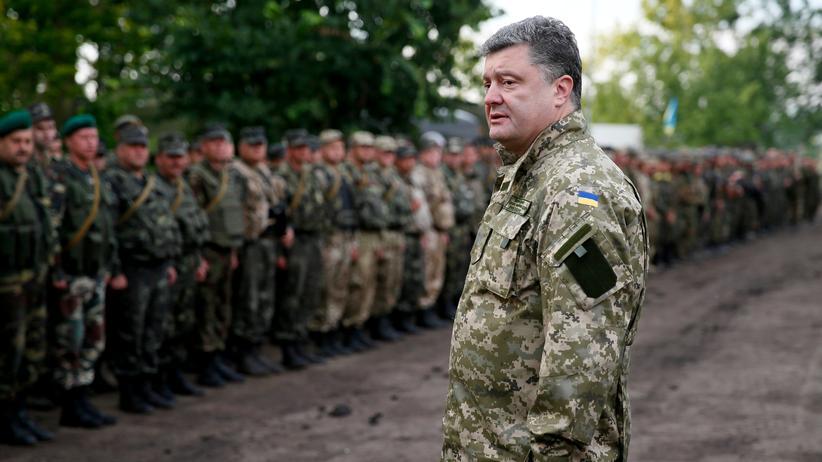 Ukraine: Der ukrainische Präsident Petro Poroschenko