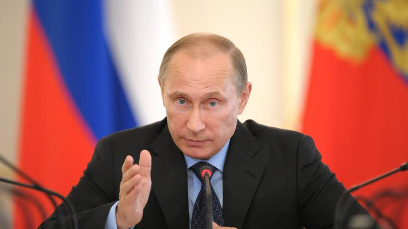 Ukraine-Konflikt: Russlands Präsident Wladimir Putin